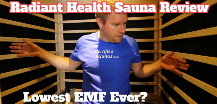 radiant health saunas review emf testing