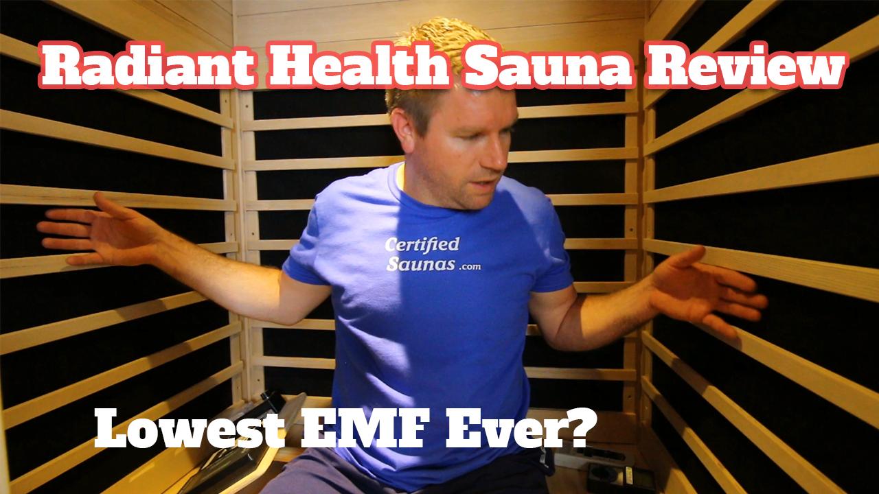 radiant health saunas review emf testing