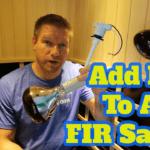 How To Add NIR To ANY FIR Sauna (cheap DIY full spectrum sauna hack?)