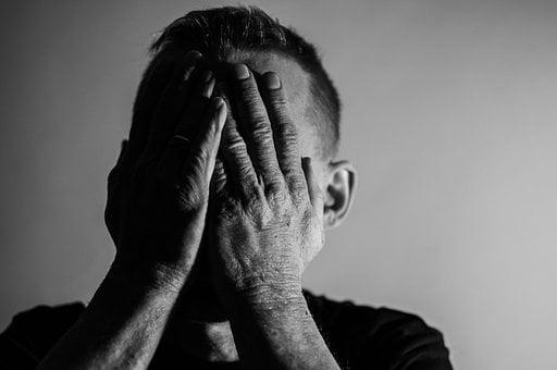Depression, Sadness, Man