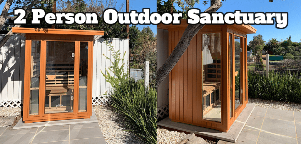 2 Person Outdoor Sanctuary Sauna Model