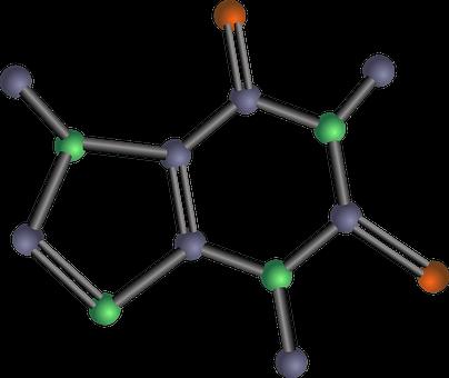 Caffeine, Molecule, Chemical Structure