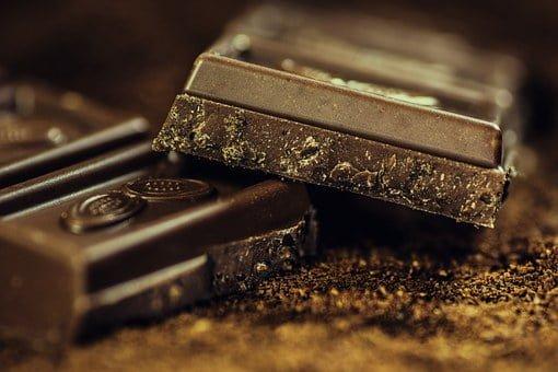 Chocolate, Dark, Coffee, Confiserie
