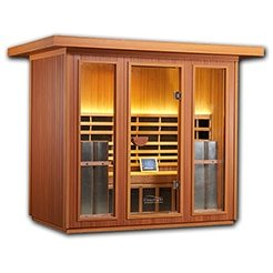 Clearlight Sanctuary 5 Person Outdoor Infrared Sauna Model