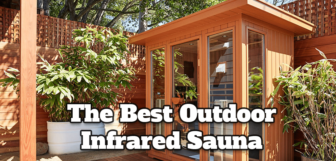 Clearlight Sanctuary Outdoor Sauna